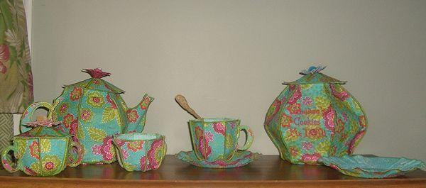 PAMS 3D TEA SET