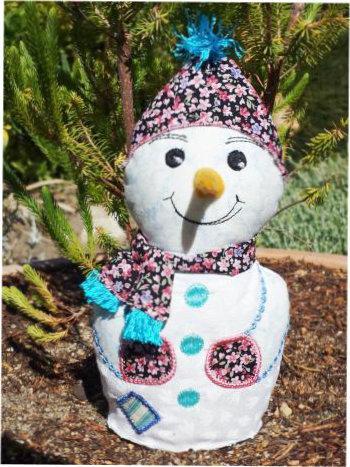 ITH Decorative Snowman -3