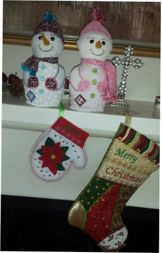 ITH Decorative Snowman