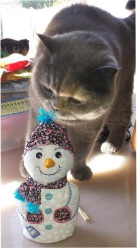 ITH Decorative Snowman -7