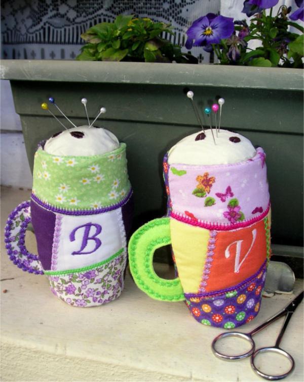 ITH Mug Pin Cushions