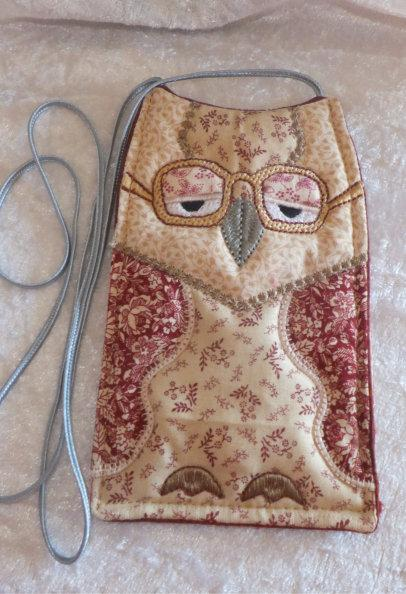ITH Owl Spectacle Cases Blank