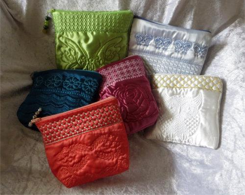 ITH Top Closing Elegant Zipper Bags