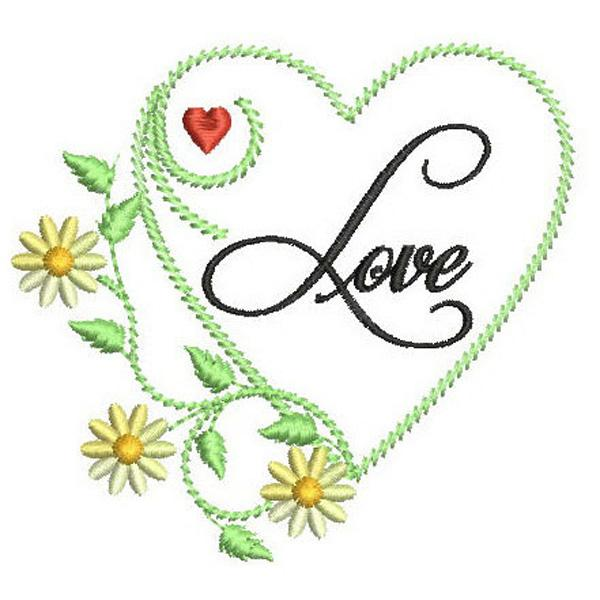 SDS0343 Love Heart