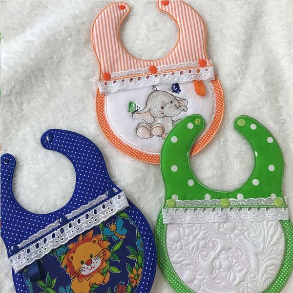 SDS1167 Interchangeable Baby Bibs