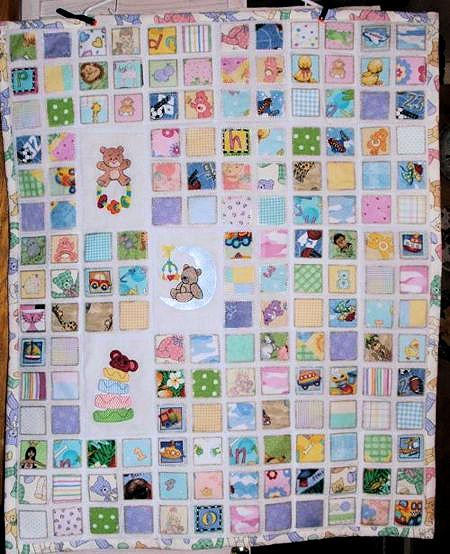 Baby Charm Quilt Project
