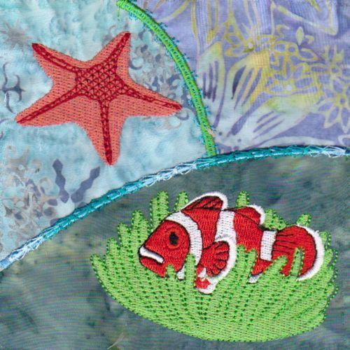 Under The Sea Crazy Quilt