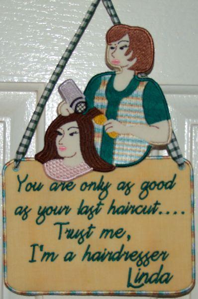 Hairdresser Dangler