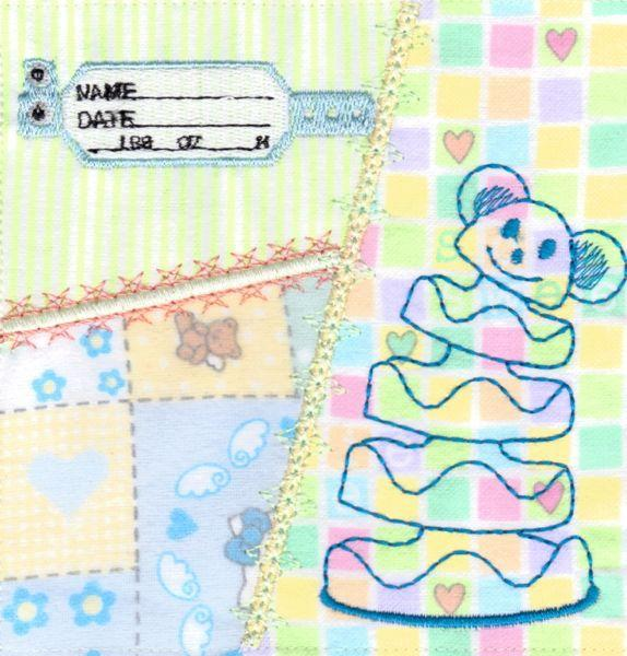 Crazy Quilt Baby Blocks