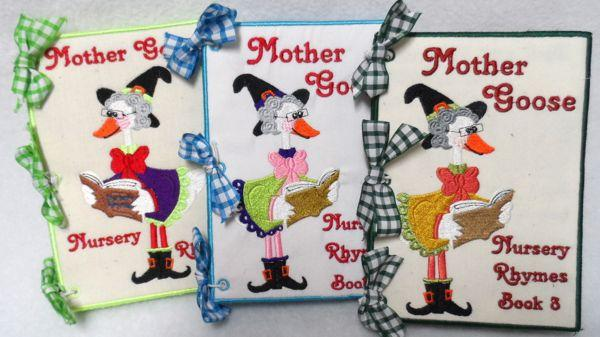 3 Book Set Mother Goose Nursery Rhymes