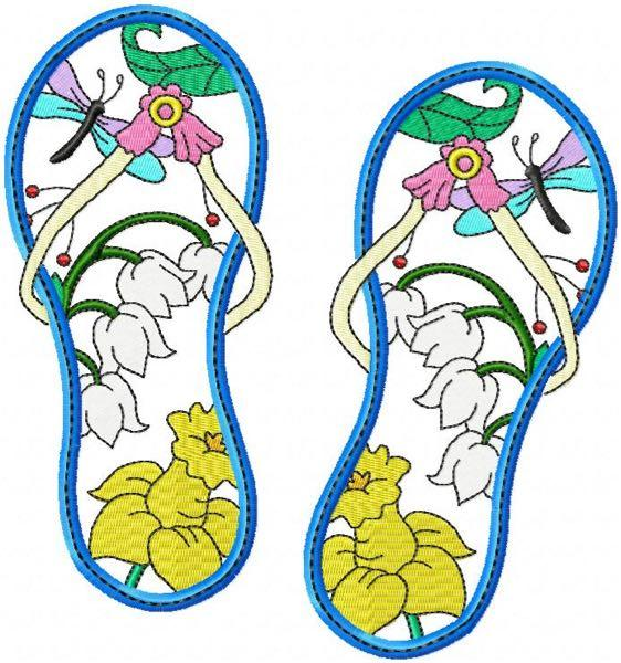 Flip Flops 10  4 sizes