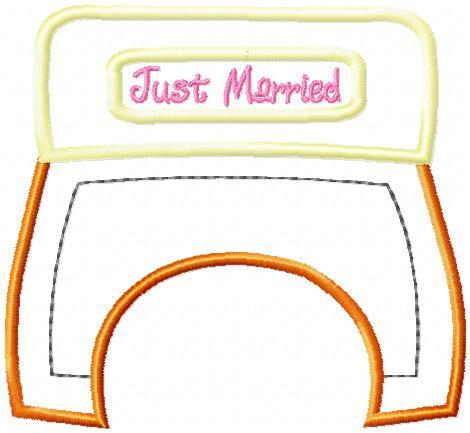 Just Married Coupe Dangler