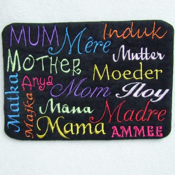 Mom in Different Languages