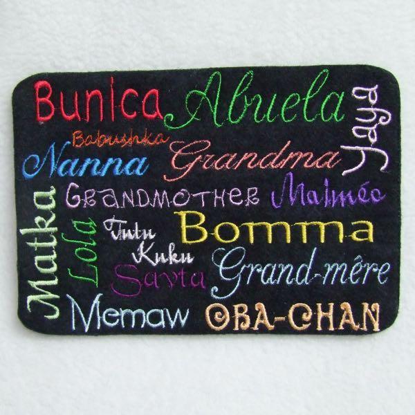 Grandma in Different Languages