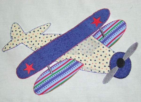 Airplane Appliques 3 sizes