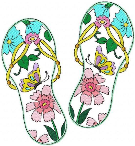Flip Flops 2  4 sizes