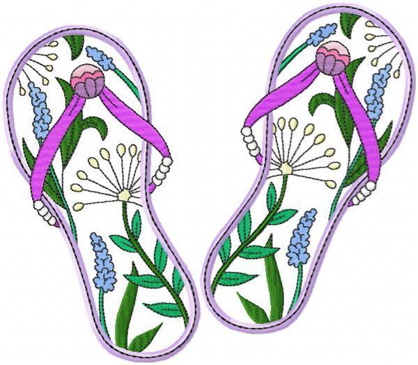 Flip Flops 3  4 sizes