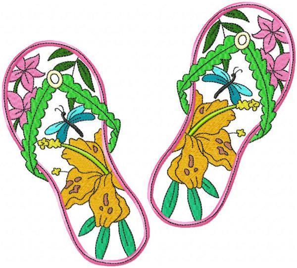 Flip Flops 6 4 sizes