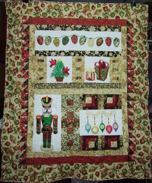 Christmas Quilt Project