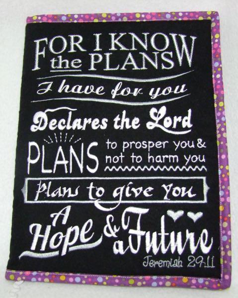 Jeremiah 29 Chalkboard 4 sizes