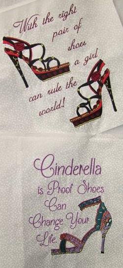 Shoe Sayings 4 sizes