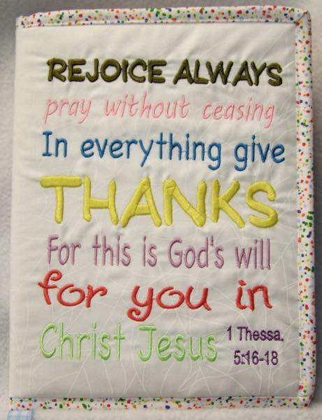1 Thessalonians 5:16