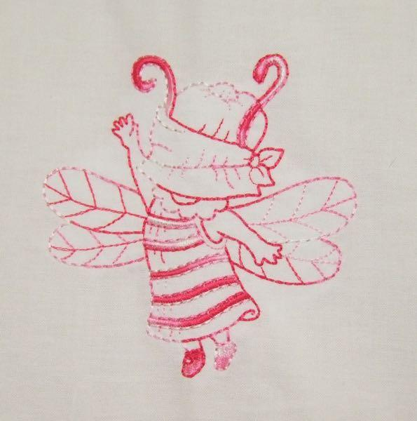 Sunbonnet Sue Dragonflies 3 sizes