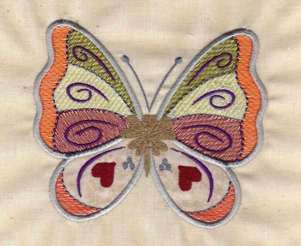Country Butterflies Set 1