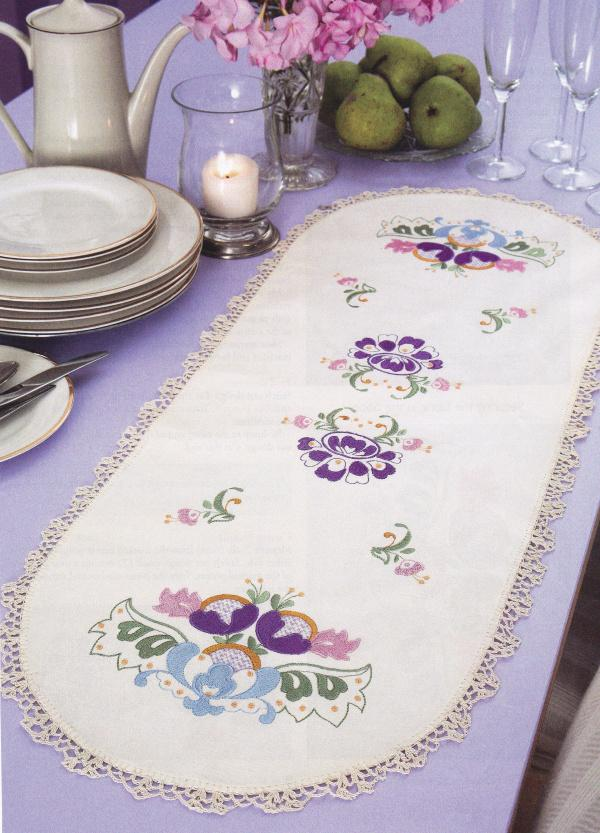 Jacobean Table Runner