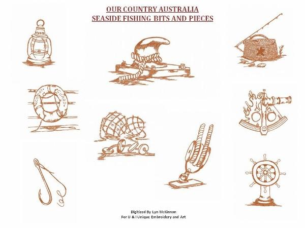 OUR COUNTRY AUSTRALIA..SEASIDE BITS AND PIECES