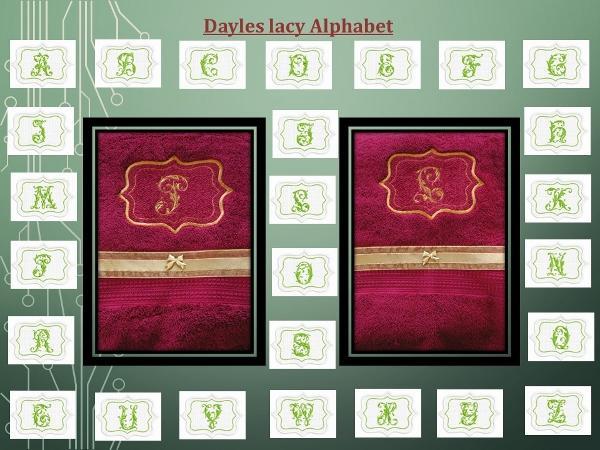 DAYLES LACY ALPHABET