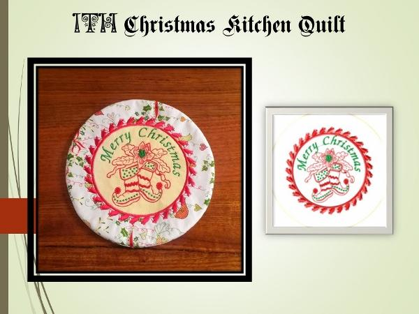 ITH Christmas Kitchen Quilt No 1