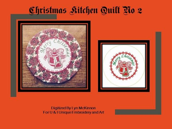 ITH Christmas Kitchen Quilt No 2