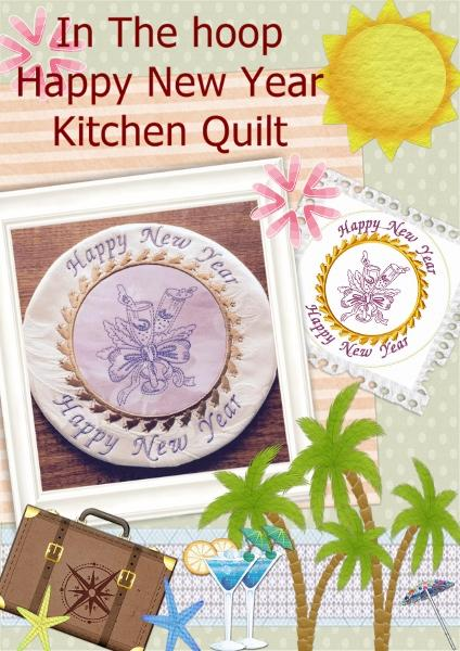 ITH New Year Kitchen Quilt