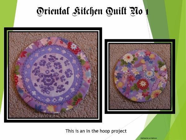 ITH Oriental Kitchen Quilt No 1