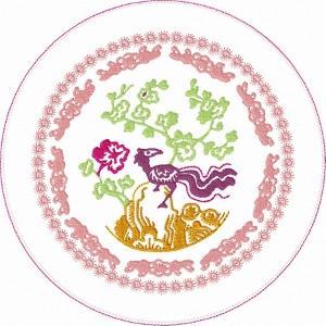 ITH Oriental Kitchen Quilt No 3
