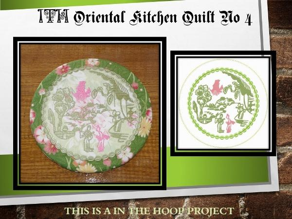 ITH Oriental Kitchen Quilt No 4