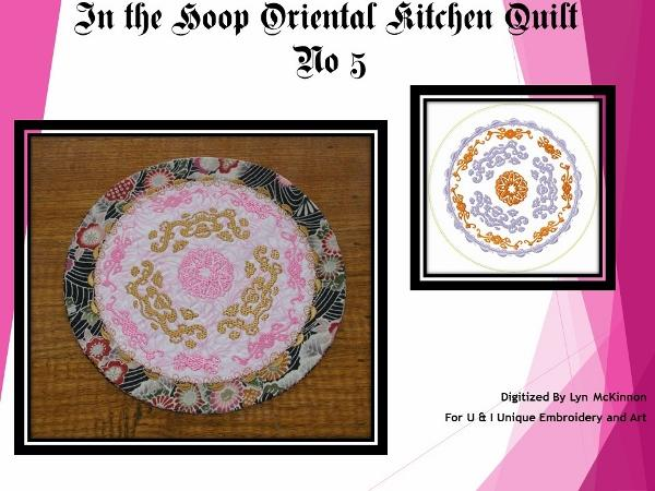 ITH Oriental Kitchen Quilt No 5