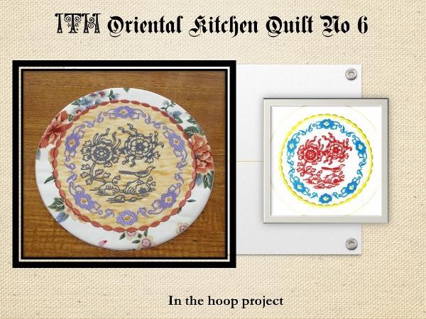 ITH Oriental Kitchen Quilt No 6