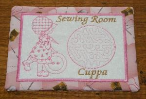 ITH Sewing Room Mug Rug