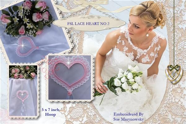 FSL Lace Heart No 2