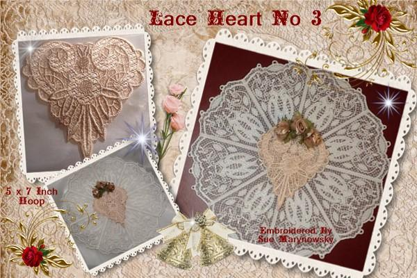 FSL Lace Heart No 3