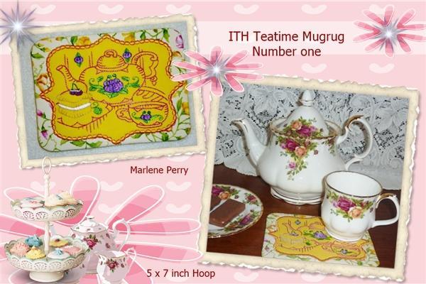 ITH Teatime Mugrug No 1