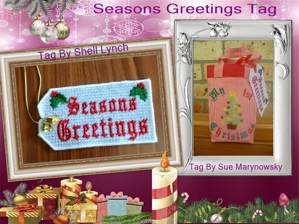 FSL Seasons Greeting Tag