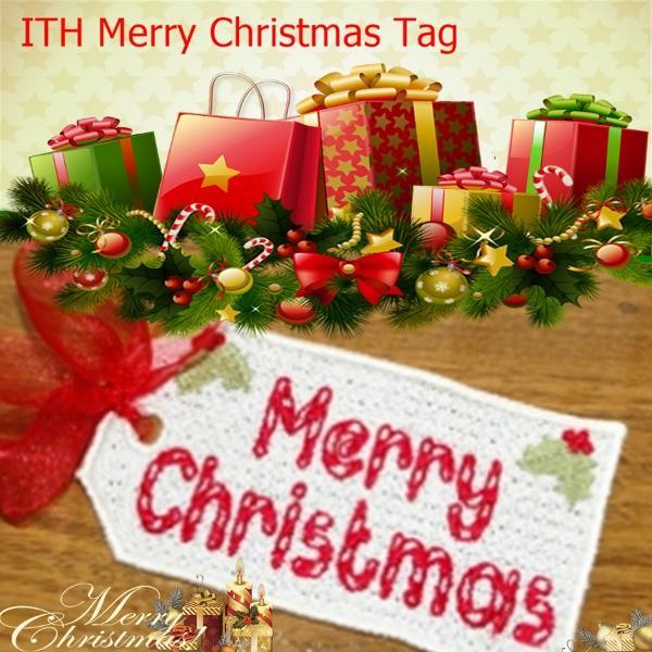 FSL Merry Christmas Tag