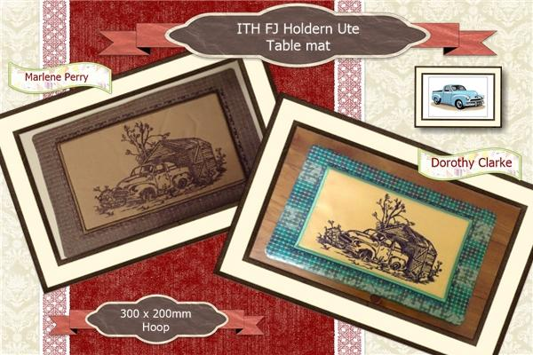 ITH FJ Holden Ute