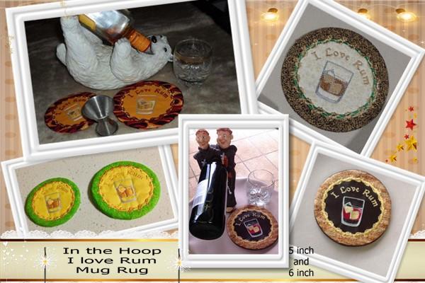 In the hoop Rum Mugrug