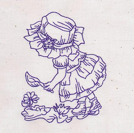 Little Miss Sunbonnet